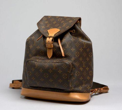 c6fe3d8ca17 ... à dos Ref 48173 - La cote des sacs Louis Vuitton Montsouris Backpack d  occasion ...