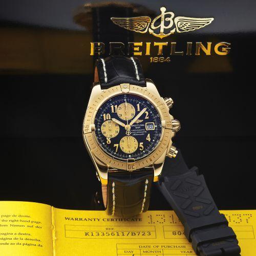 aaadbf1c0af Breitling Windrider Chronomat Evolution second hand prices