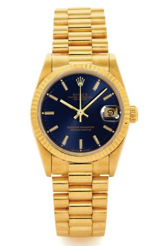 85a6ef2a9e6 68278 MID-SIZE DATEJUST YELLOW GOLD.Rolex, Oyster Perpetual Datejust,  Superlative Chronometer Officially Certified, case No. 9792080, Ref. 68278.