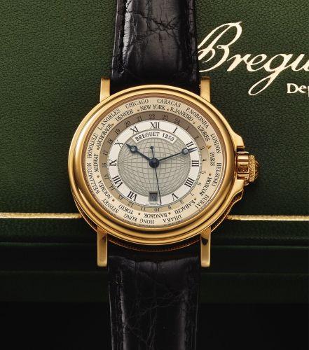 Brequet Hora Mundi 5717 Platinum Men's Watch US$ 65,940