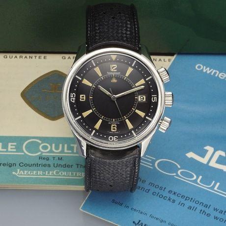 6e3b64e30d854 Jaeger-Lecoultre Ref. E859. Description   JAEGER LECOULTRE MEMOVOX ALARM ...