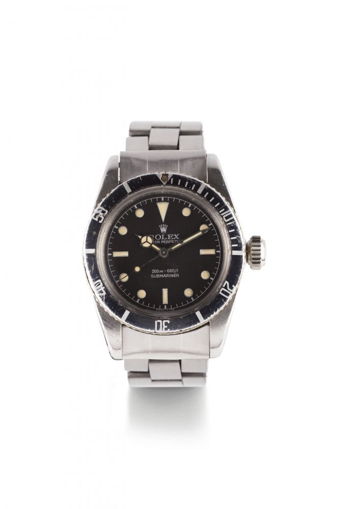cf355e718ab0 ROLEX SUBMARINER JAMES BOND BIG CROWN STEEL
