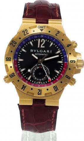 734f4229918 Bulgari - Scuba GMT - Ref. Bulgari - GMT40GVD