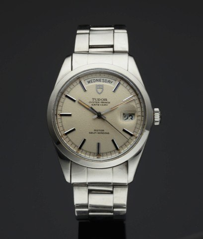 c1c03bbc25 TUDOR REF. 7017 DATE DAY STEEL.Tudor, Oyster Prince, Date-Day, Rotor,  Self-Winding.Ref. 7017/0, case made by Rolex, Geneva. Made in the.1960's.