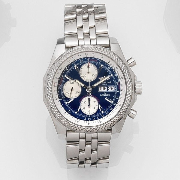 Breitling Bentley Gt Wristwatches: Breitling Bentley Gt Second Hand Prices