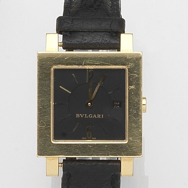 999cc7f52a5 Quotations for second hand watches Bulgari Quadrato SQ29GL