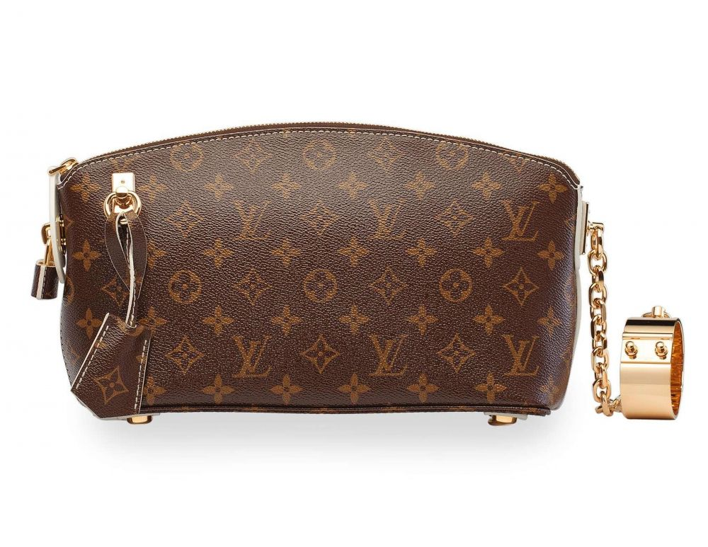 4e7b43e59f8a A LIMITED EDITION MONOGRAM FETISH LOCKIT CLUTCH WITH GOLD HARDWARE LOUIS  VUITTON, 2011