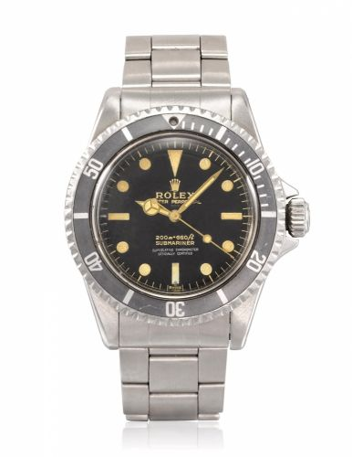 "f9853ca39141 ROLEX, GILT ""FOUR-LINER"" UNDERLINE SUBMARINER, REF. 5512 5513"