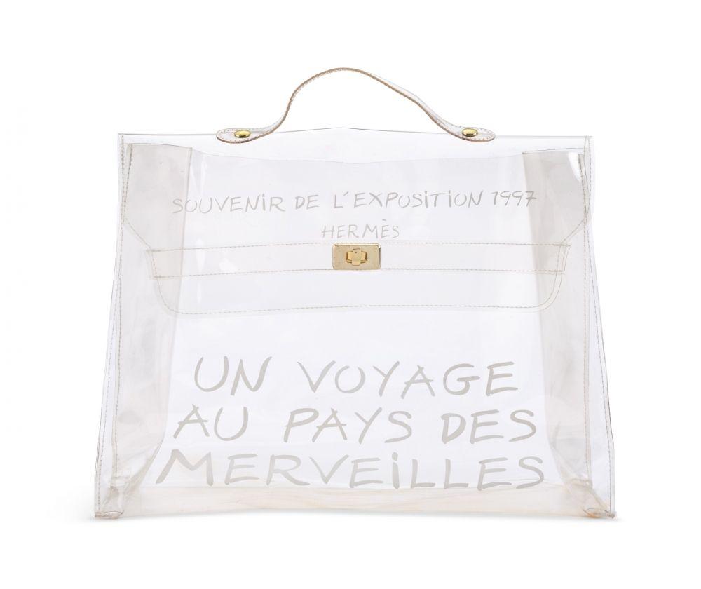 nouveau produit b9caa 2e891 Sacs Hermès Kelly - Kelly Plastic - Prix de l'occasion et ...