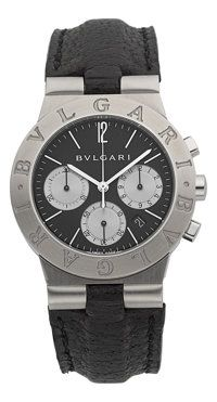 Bulgari Diagono Stainless Steel Chronograph Ref. CH 35 S.. 6596150f5af