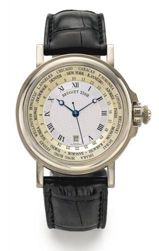 Breguet Classique Hora Mundi Automatic Silver Dial Men's ...