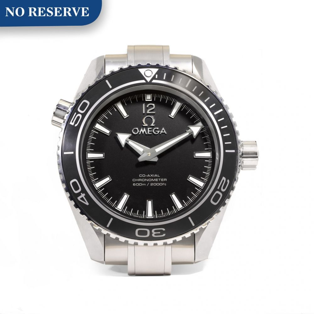 Omega Seamaster Planet Ocean second hand prices