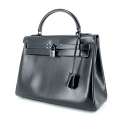 Quotations from second hand bags Hermes Kelly So Black bc3d42233db5e